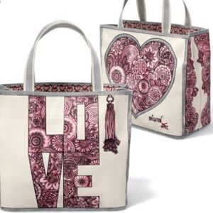 Brighton Sweetheart Love Canvas Tote Beach Bag
